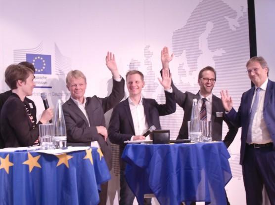 Digitales Graphic Recording Live EBD Europäische Bewegung Deutschland