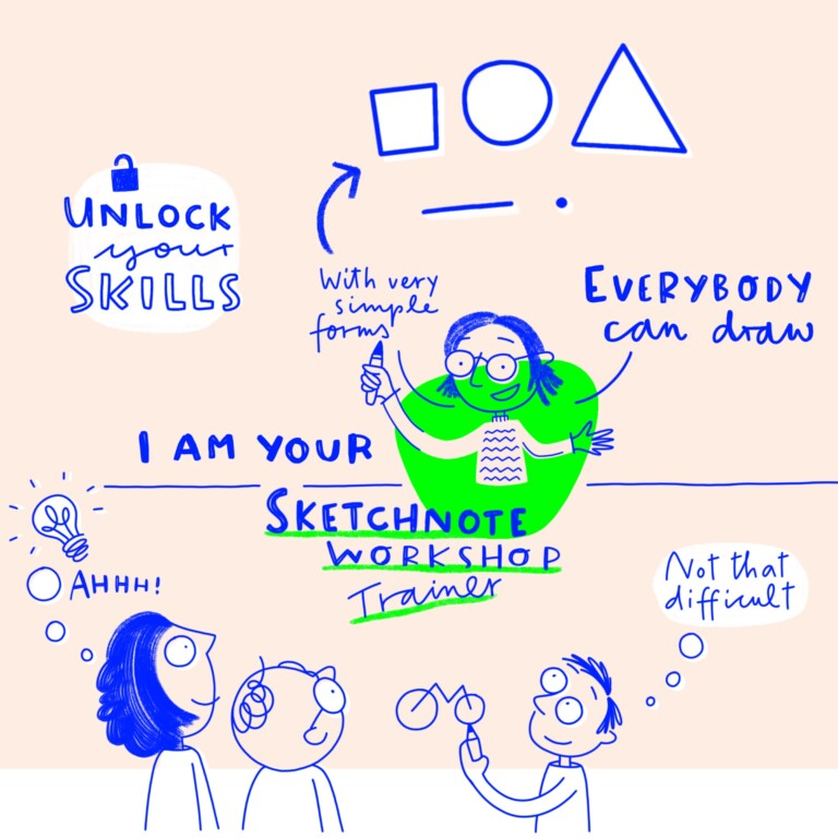 Sketchnote Workshop Illustration
