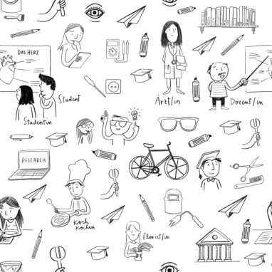 Illustration Wallpaper Pattern Schule