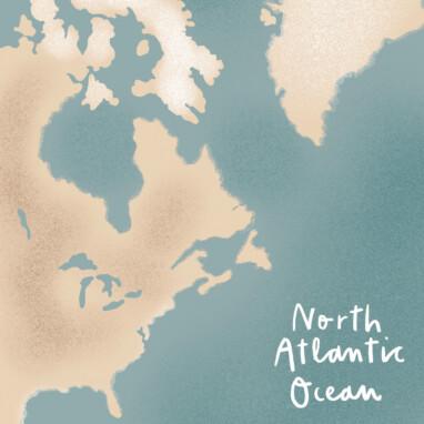 Illustration Map Karte Welt
