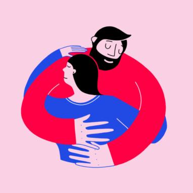 Illu Hugs Thumb