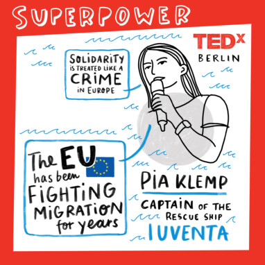 TED Talk Pia Klemp Iuventa 10