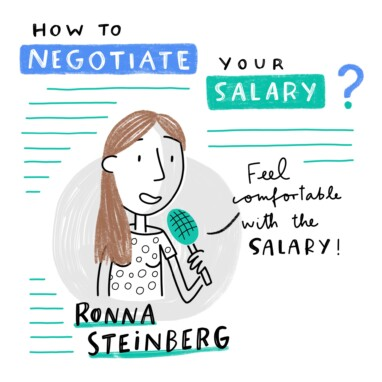 Sketchnote WTM Negotiate Salary