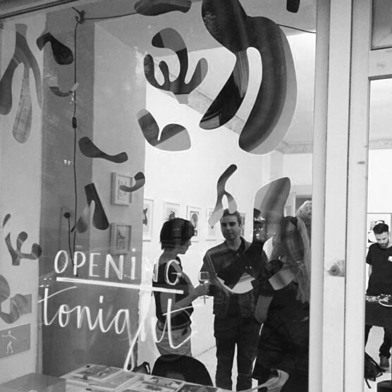Ausstellung Texturzustand Eröffnung